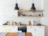 キッチンの壁のリフォ-ム