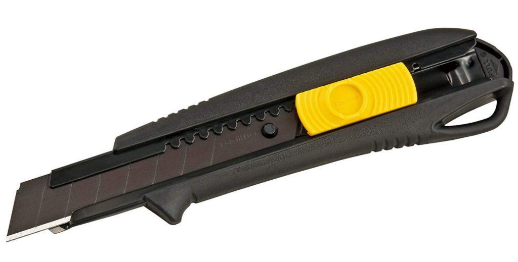 タジマ(Tajima) ドライバーカッター L560 オートロック 黒 適合替刃L型 DC-L560BBL